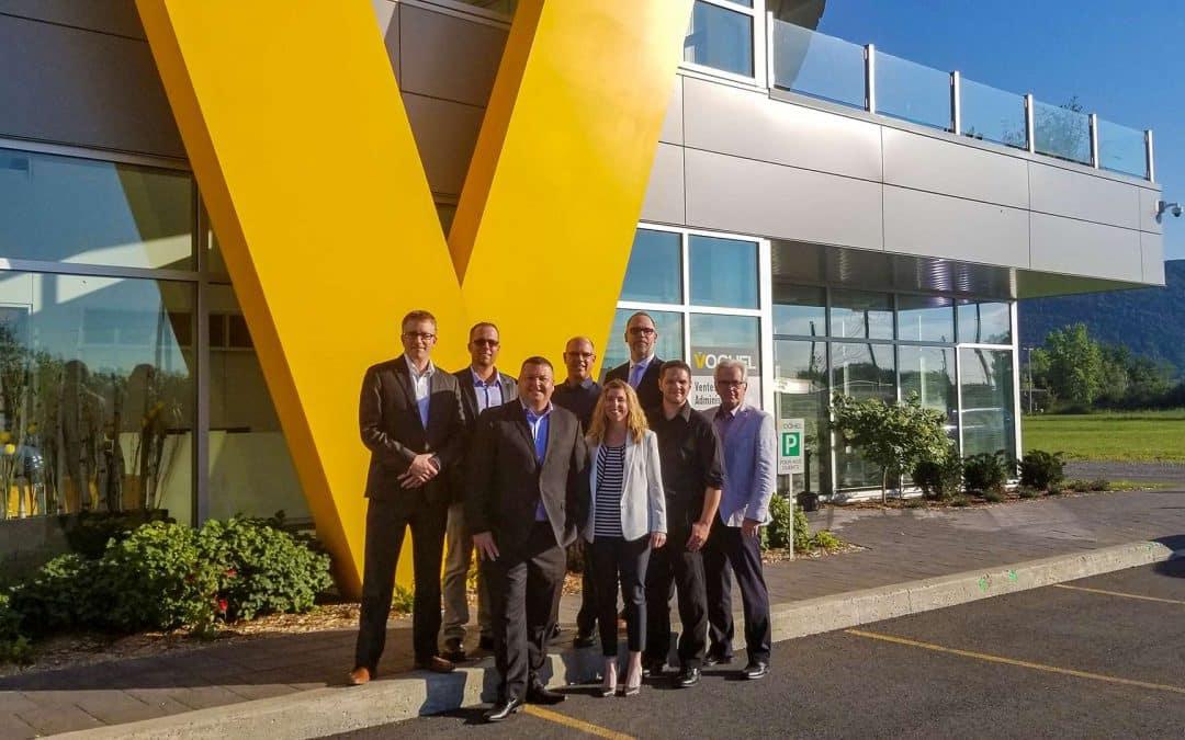 Nouvelle ère de croissance pour Voghel : son DG Dany Michaud devient président et principal actionnaire de l'entreprise