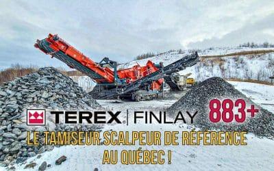 Le tamiseur scalpeur 883+ : La référence #1 au Québec !